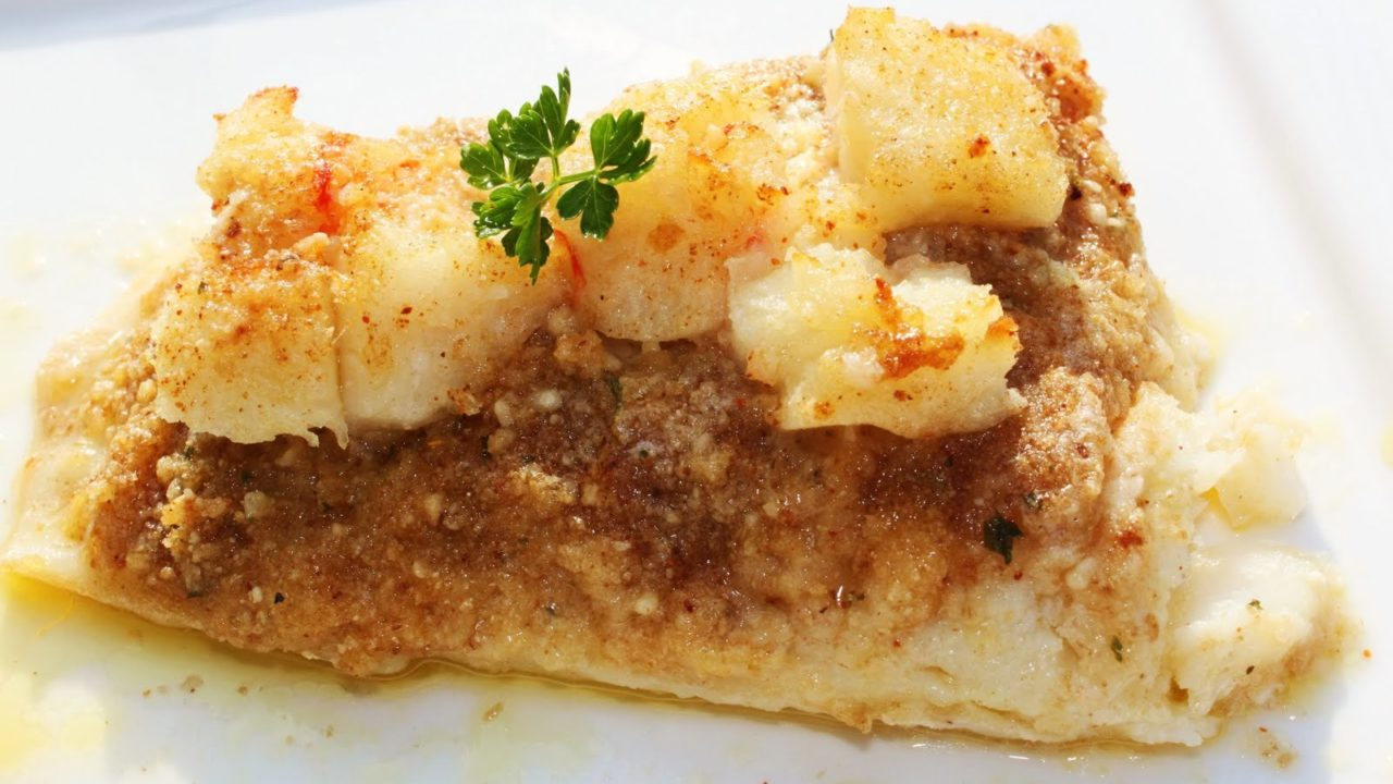 Baked Haddock, Buttery Lobster and Wine Sauce