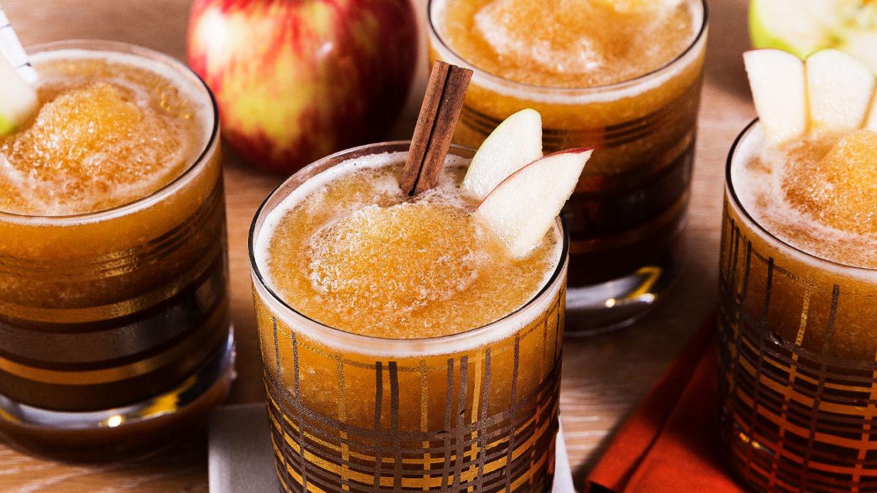 Boozy Cider Slushie