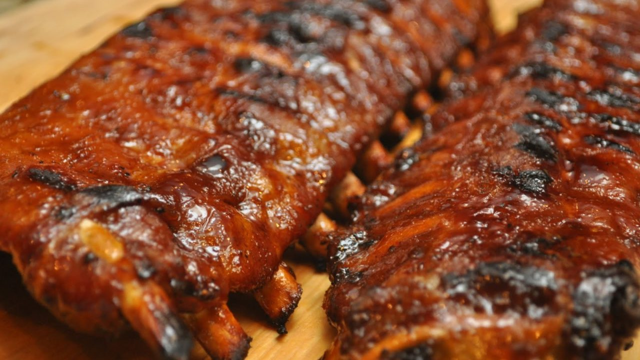 Bourbon Barbecue Baby Back Ribs
