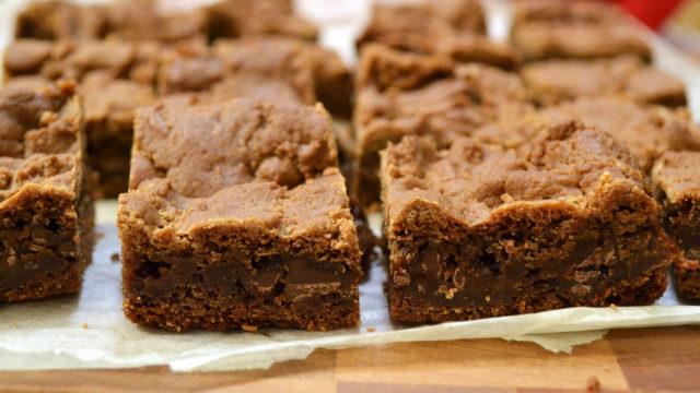 Boyfriend Brownies {Caramel Brownies}