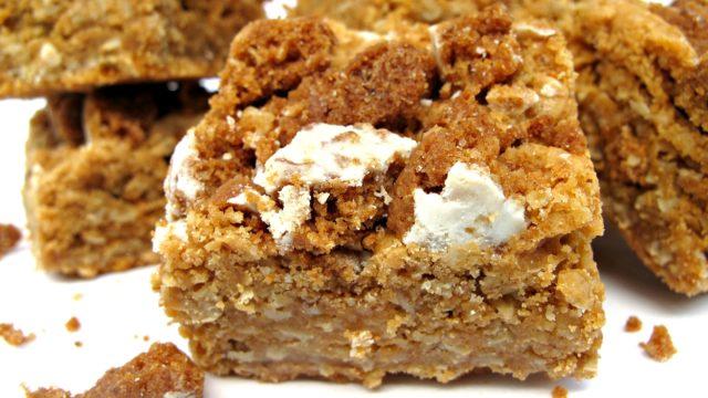 Butterscotch Oatmeal Bars