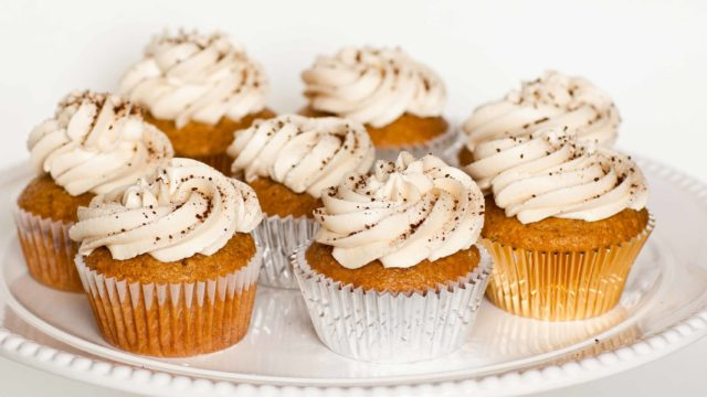 Cappuccino Cupcakes with Kahlua Butter Cream