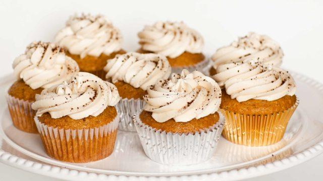Cappuccino Cupcakes with Kahlua Butter Cream