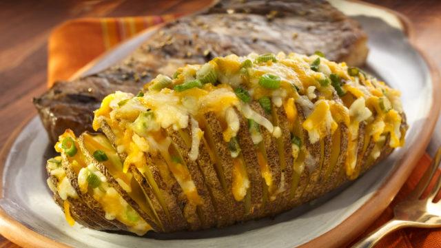 Cheddar Horseradish Potatoes