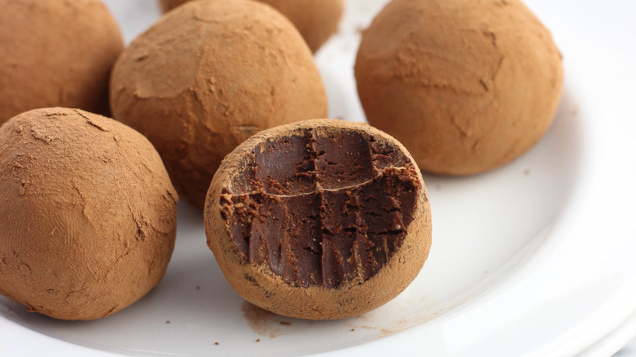 Chocolate Irish Cream Truffles