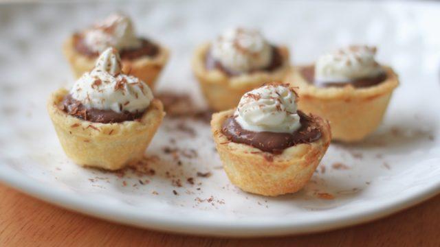 Chocolate Pudding Pie Bites