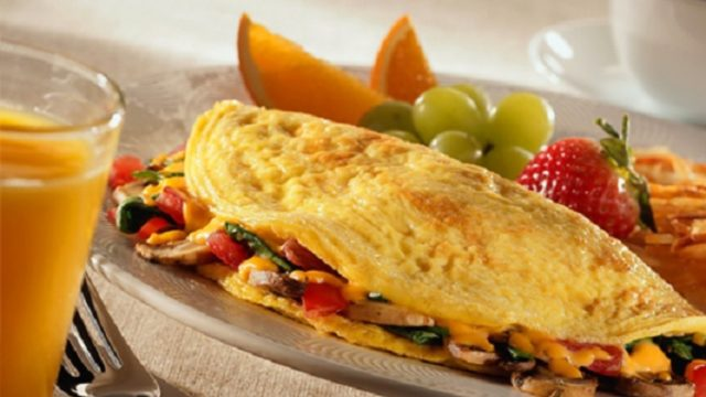 Chorizo Spicy Omelette