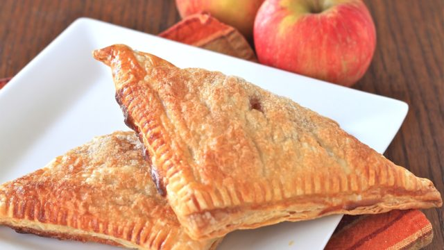 Cinnamon Sugar Apple Turnovers