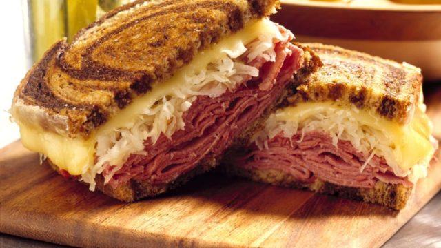 Classic Beef Reuben Sandwich