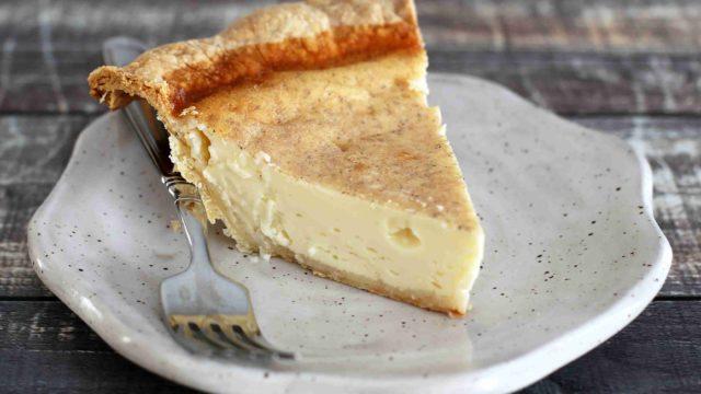 Classic Custard Pie with Nutmeg