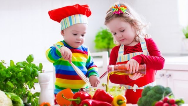 Connect Kids with Food for Healthy Habits