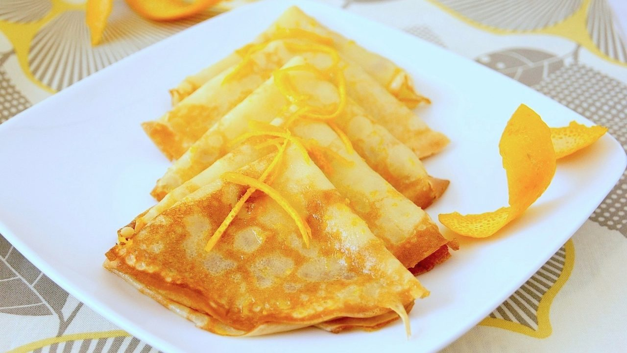 Crepes Suzette Totallychefs