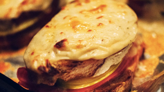 Croque Monsieur with Granny Smith Apples