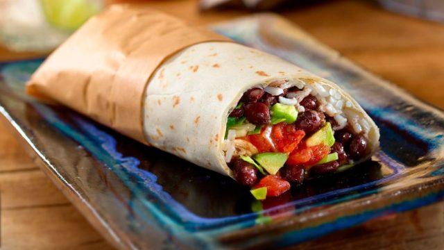 Easy Black Bean Burritos