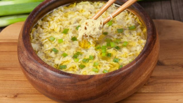 Egg Drop Soup with Tofu