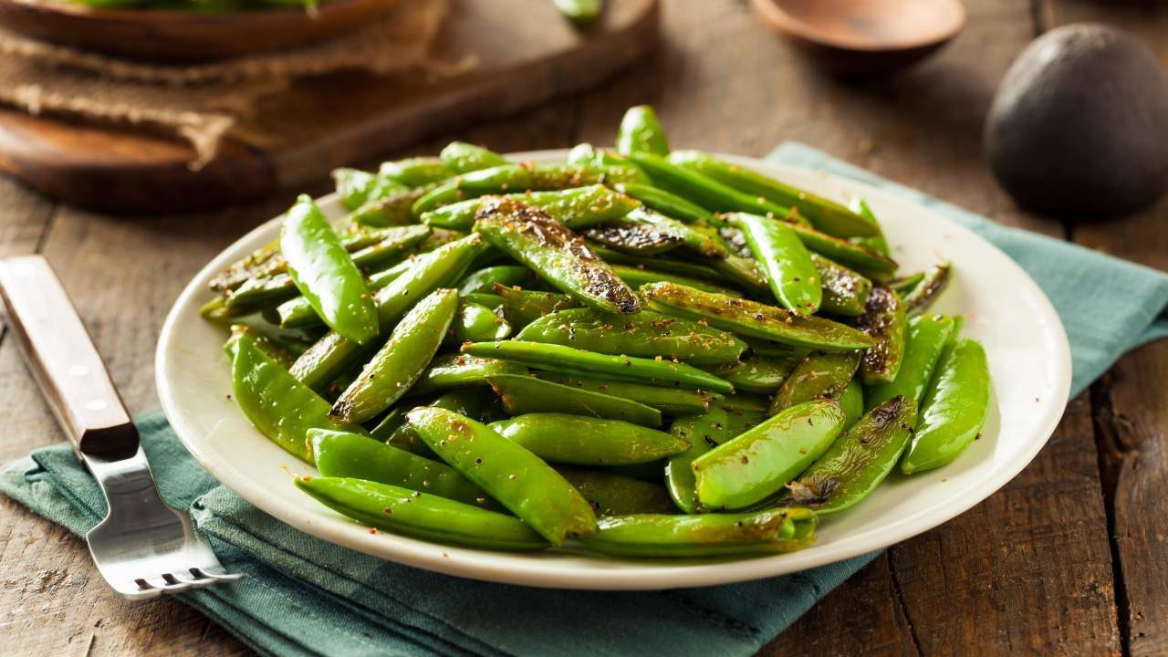 Garlic Sugar Snap Peas