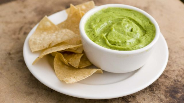 Green Chile Creamy Avocado Salsa