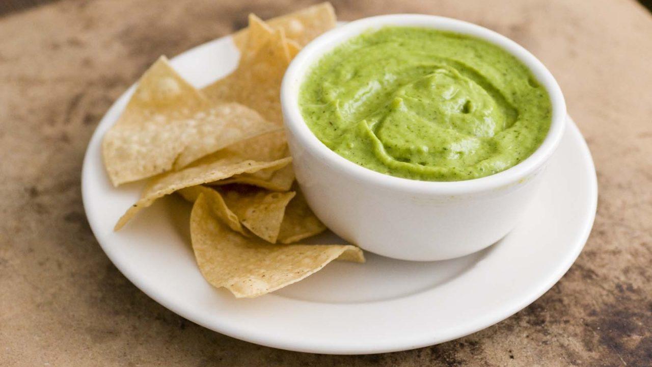 Green Chile Creamy Avocado Salsa