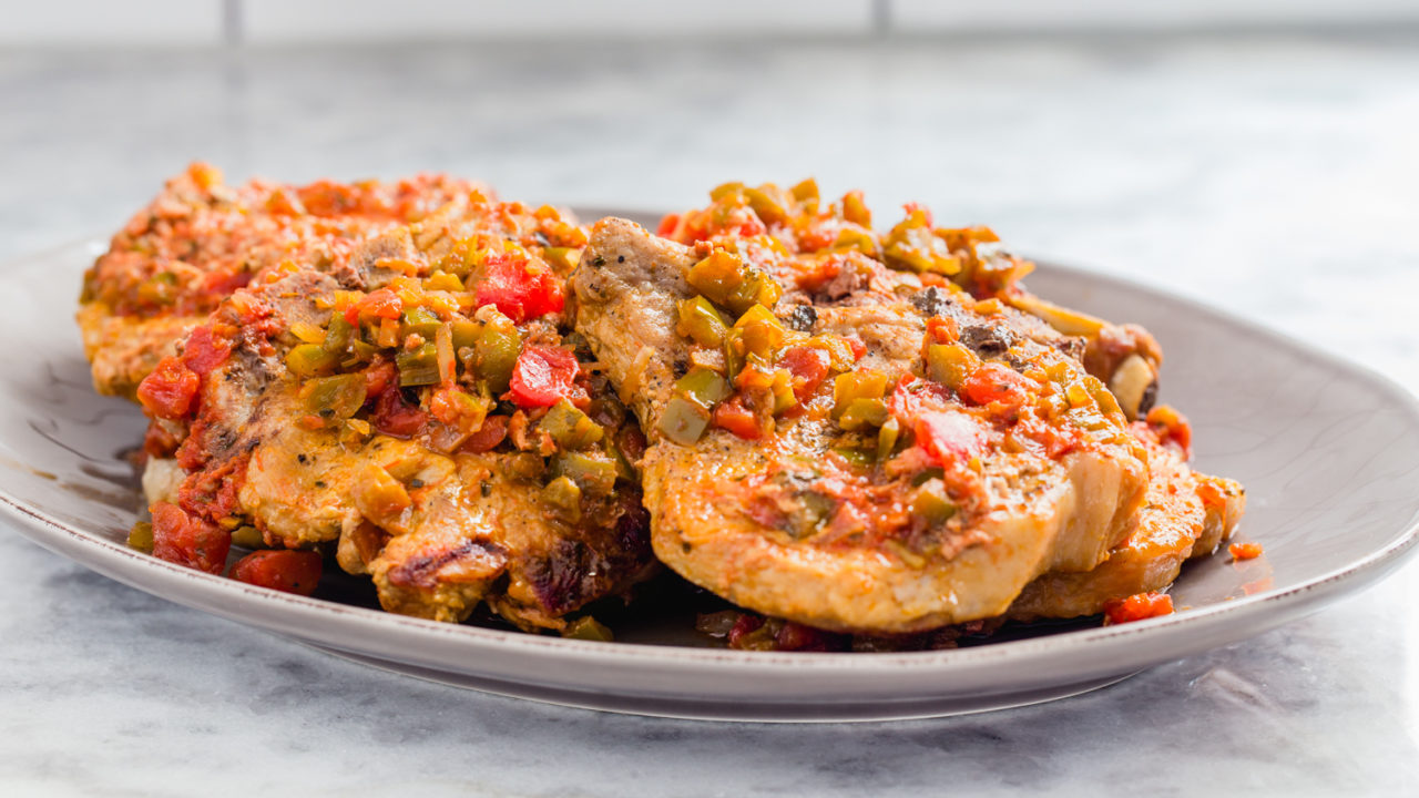Instant Pot Salsa Pork Chops