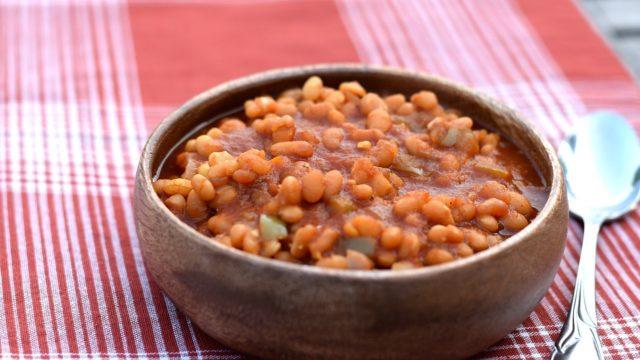 Instant Pot Vegan Baked Beans