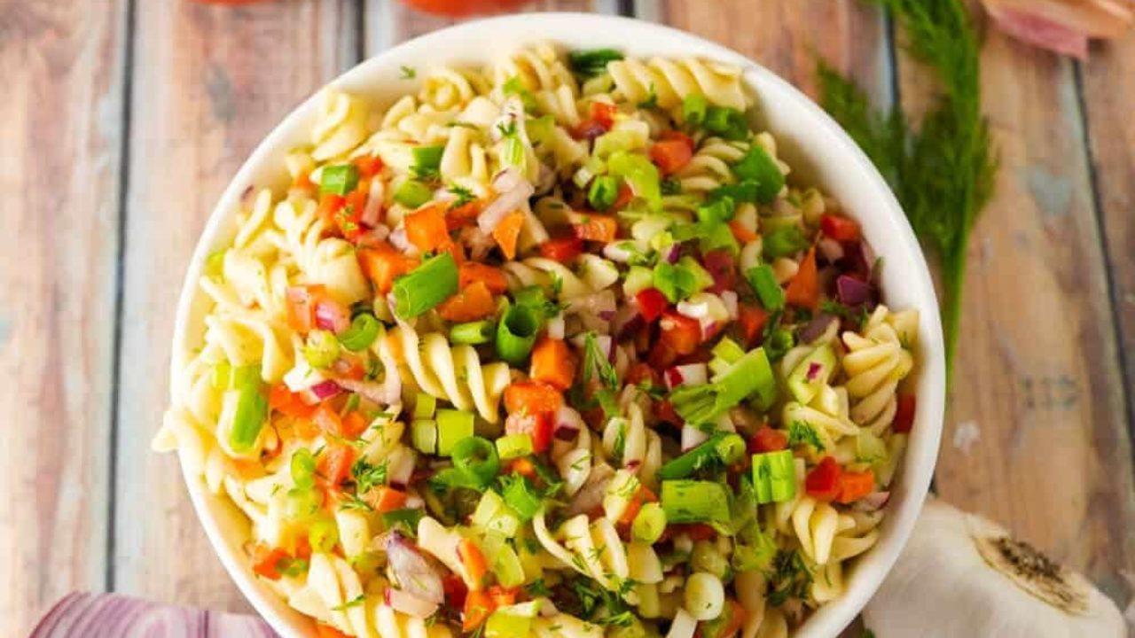 Instant Pot Vegetarian Pasta Salad