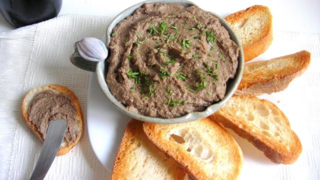 Italian Chicken Liver Pate' Spread