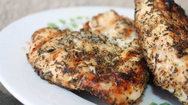 Italian Herb Grilled Chicken