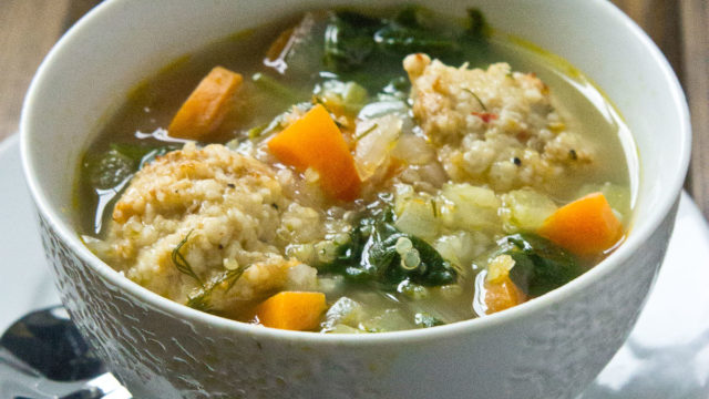 Italian Wedding Soup with Quinoa