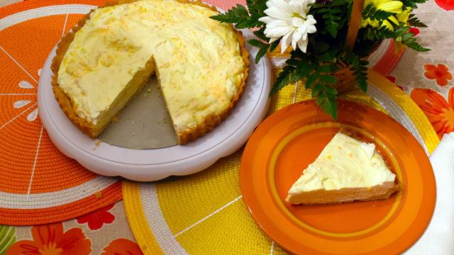 Mandarin Orange Cream Cheese Tart