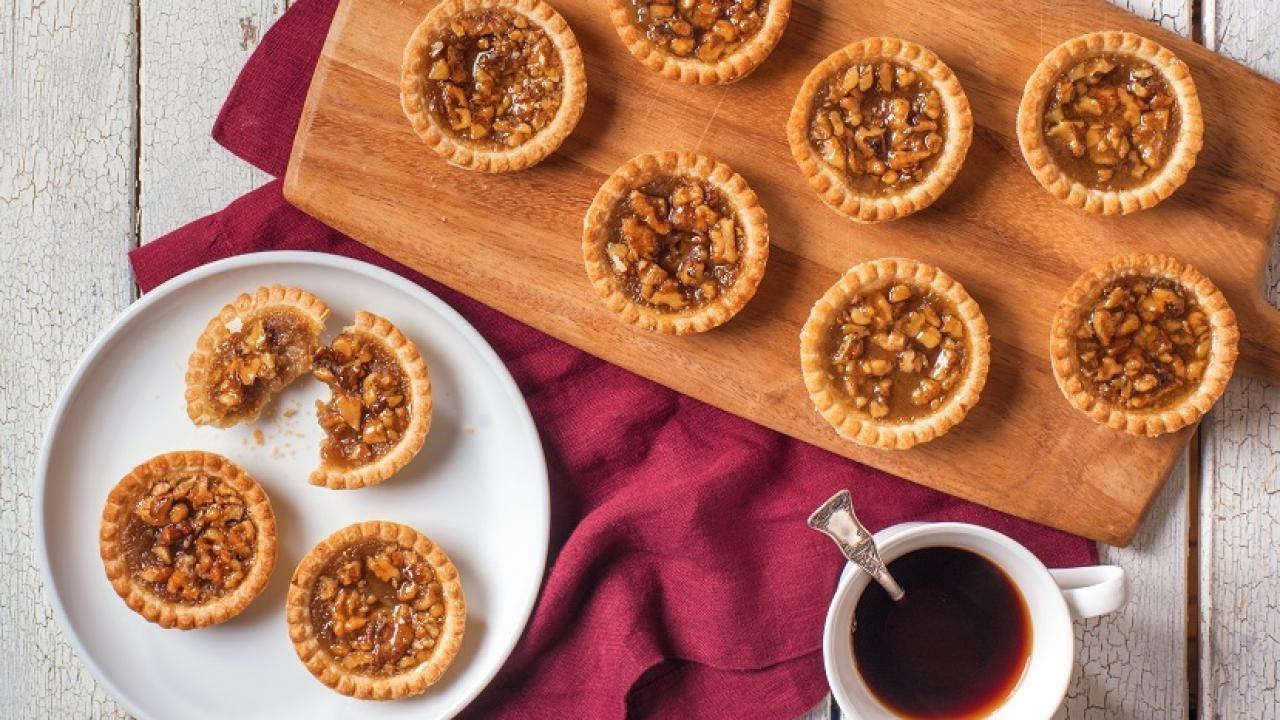 Maple Walnut Tarts