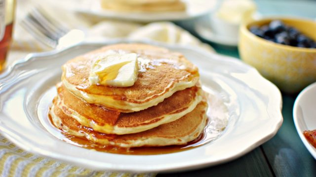 Perfect Buttermilk Pancakes