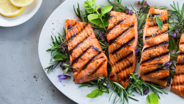 Rosemary Grilled Salmon