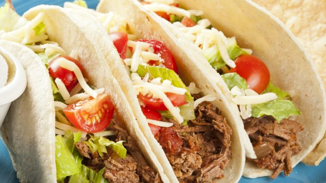Shredded Beef Tacos Crockpot Style