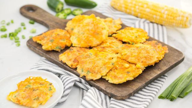 Sunny Corn Fritters
