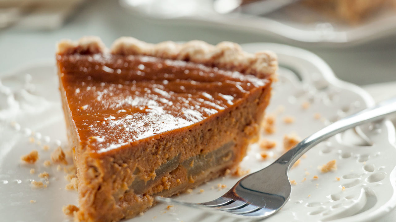 Sweet Potato Apple Pie