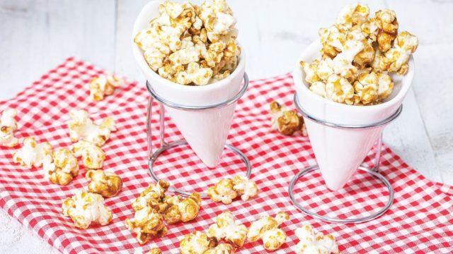 Vanilla Caramel Popcorn