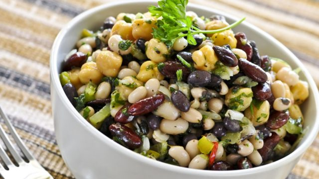 Vegan Three Bean Salad